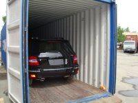 Контейнерные перевозки автомобилей Mersedes
