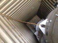 Погрузка генераторов в контейнер